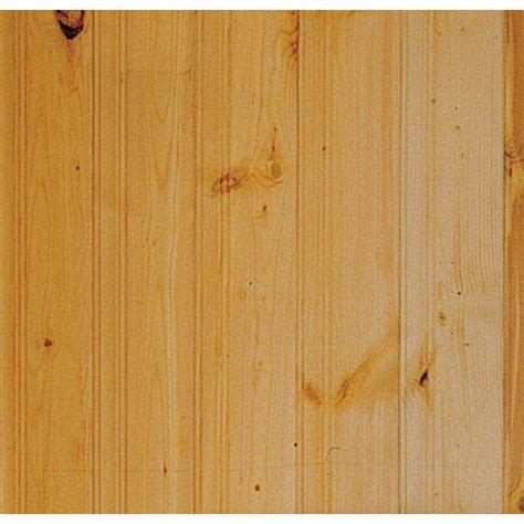 Pine Wainscoting Lowes 15 Paint Or Stain Shop Evertrue 8 Ft Wall Panel At