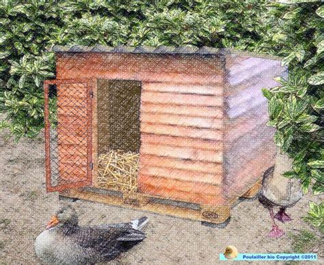 Fabriquer Une Cabane Avec Des Palettes 5285 by Construire La Cabane Pour Les Oies Poulailler Bio