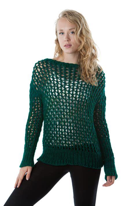 knit mesh sweater pattern mesh sweater artyarns