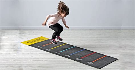 keep the active with this leaping jump mat