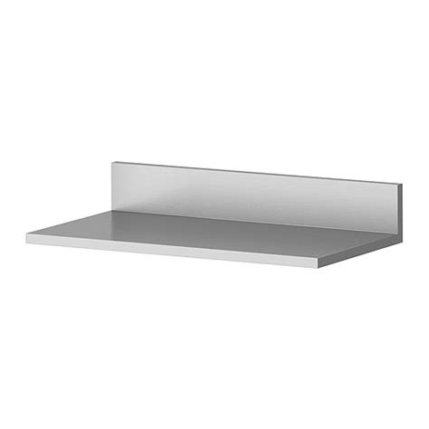 Limhamn Wall Shelf Ikea Shelves In Stainless Steel A Stainless Steel Bathroom Shelves