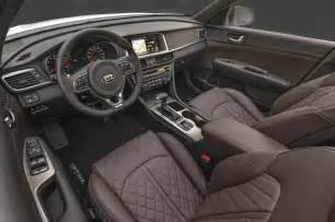 Kia Optima Leather Interior 2016 Kia Optima Sxl Interior Photo 9