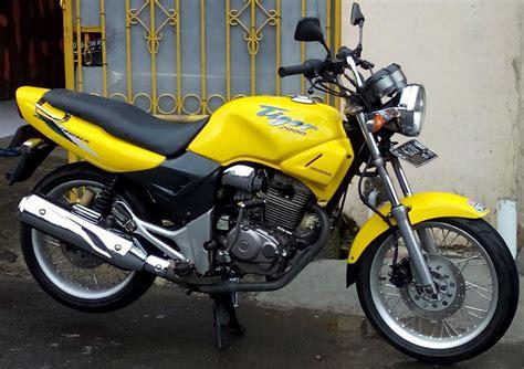 Manipulintek Tiger Lama Honda motor tiger 2000 caferacer 1firts