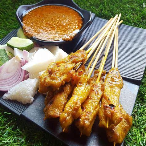 grilled chicken satay set  sticks ezbbq bbq