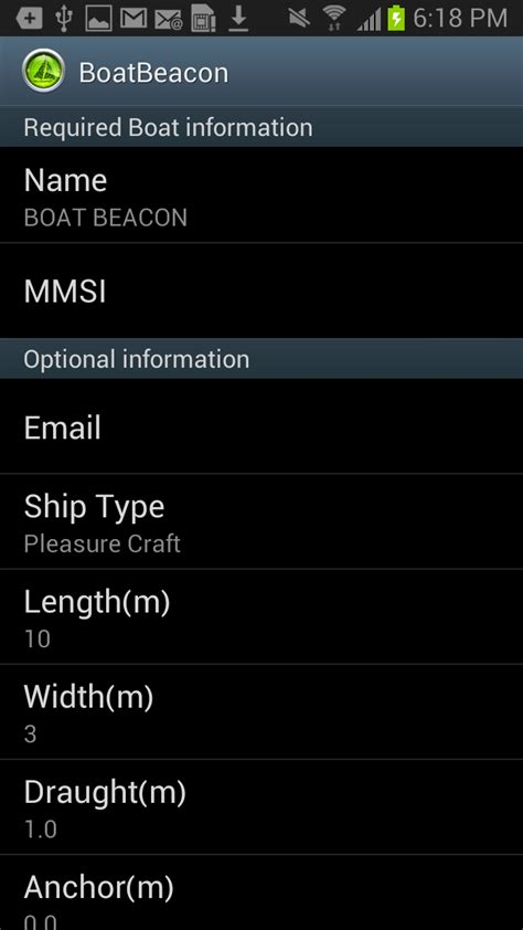 boat gps android boat beacon ais navigation de apps f 252 r android