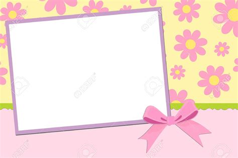photo frame card template postcard clipart greeting card pencil and in color