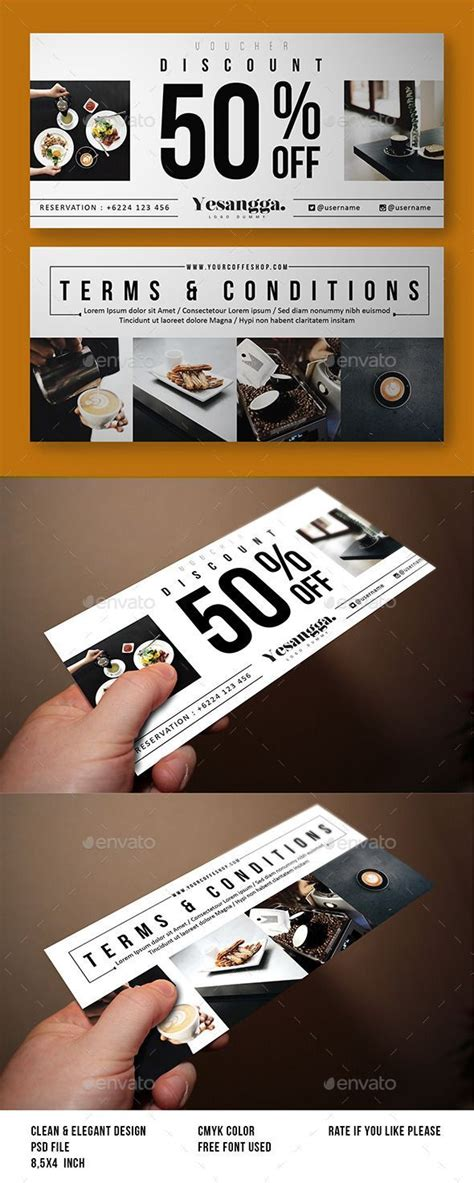 promotional cards templates best 25 gift voucher design ideas on gift