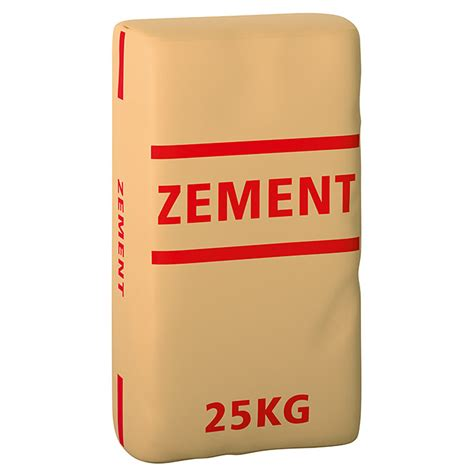 Ein Sack Zement by Zement 25 Kg Chromatarm Bauhaus