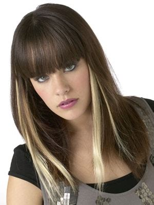 Peek A Boo Hairstyle by Peek A Boo Highlights Ideas