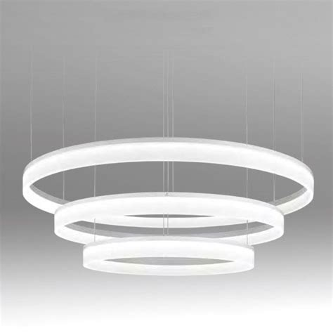 Chandeliers Seductive Led Pendant Lights Grok Circ Matt Commercial Pendant Lighting
