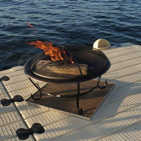 firepit pad pit pad for wood deck pit design ideas