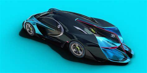 concept bugatti bugatti study makes the chiron seem bland carscoops