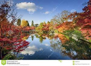 Colorful Foliage Plants - fall foliage in kyoto japan stock photo image 43095344