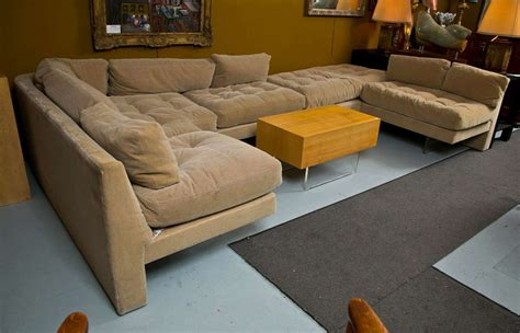 coffee tables for sectional sofas mid century vladmimir kagan sectional sofa and coffee