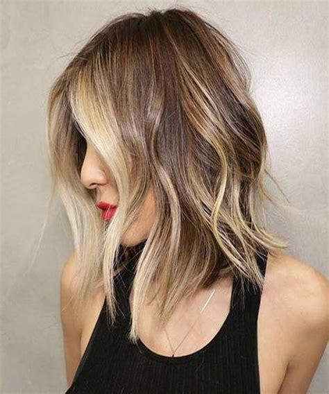 shoulder grazing hair a good choice for shoulder length hairstyles 2016 2017