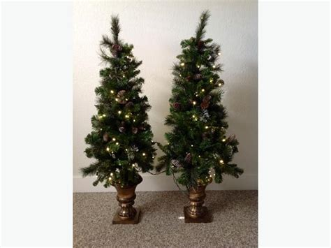54 quot pre lit porch christmas trees indoor outdoor north