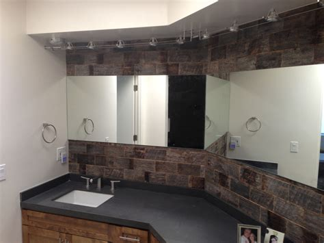 barnwood bathroom barnwood bricks 174 installations on pinterest