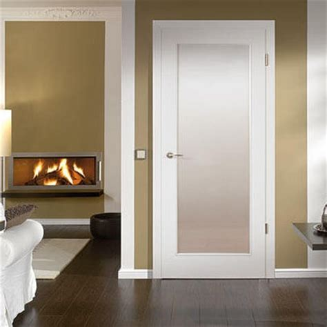 Interior Doors Miami by White With Lite Insert With Acid Etched Glass Modern