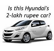 Hyundai's 800cc 2 Lakh Rupee Sub Santro Car Coming To Auto Expo