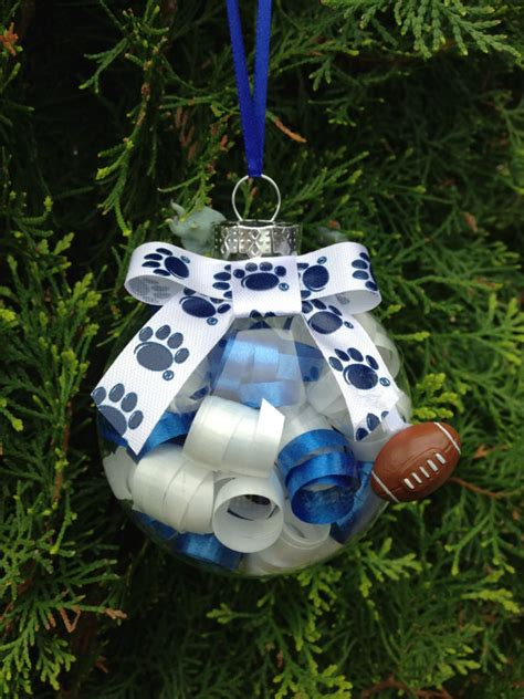 items similar to handmade penn state christmas ornament