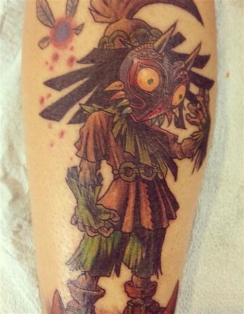legend tattoo legend of majora s mask cool tattoos