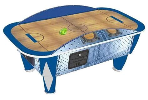 yukon titan 8 foot commercial air hockey table liberty