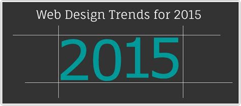 design font trends 2015 excellent ongoing web design trends for 2015 it techno