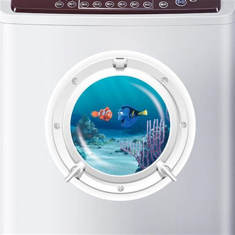 Porthole Windows Bathroom Decorating Find Dory Nemo Fish Wall Decals Room Decoration Diy 3d Window Wall Stickers Removable