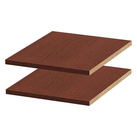 Black Melamine Shelf Board by Melamine White Shelf Board Common 3 4 In X 23 3 4 In X