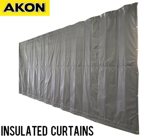 How To Hang Curtains by Industrial Insulated Curtain Wall