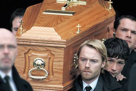 ronan in song tribute to s at funeral