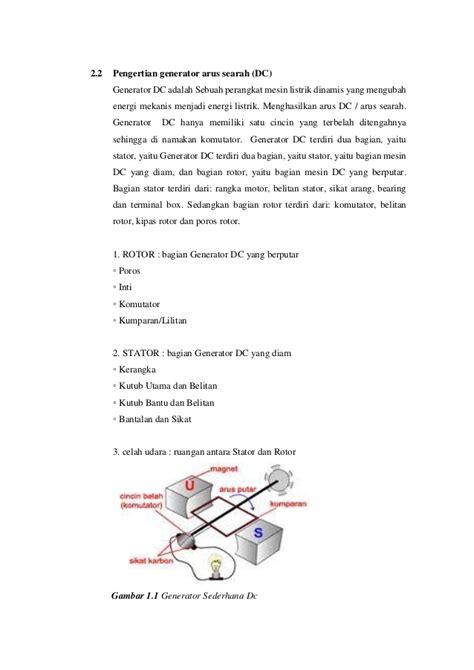 makalah membuat magnet makalah generator dc