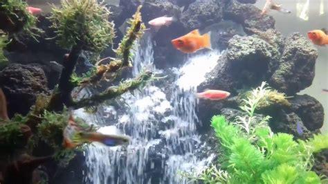 aquascape air terjun air terjun 3 aquascape 2 youtube