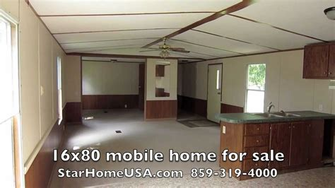 232 16x80 mobile home for sale owner finance danville