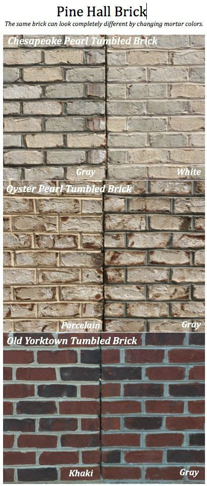 brick mortar colors 1000 images about mortar trim makes a difference on