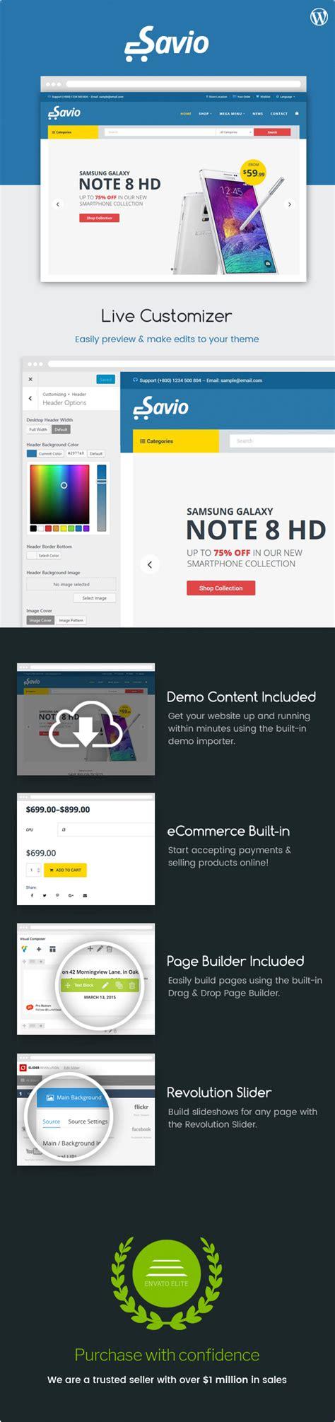 themes store ecommerce savio ecommerce store theme webdesign seo