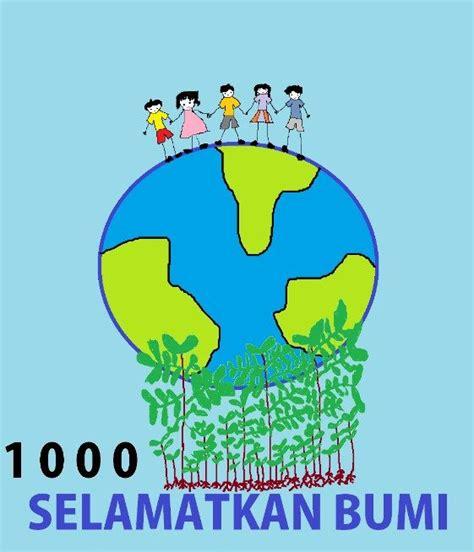 gambar poster memelihara lingkungan