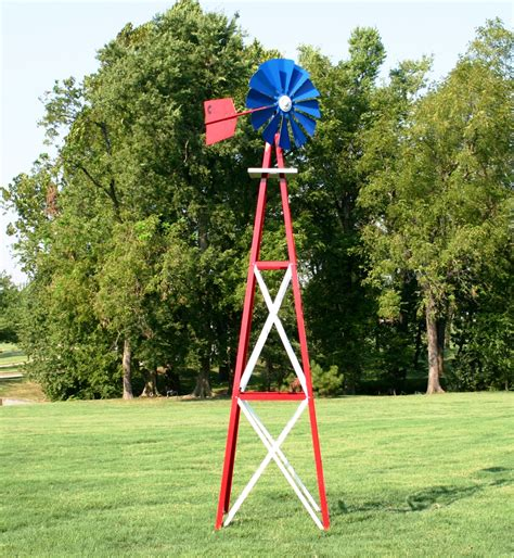 backyard windmills for sale sale outdoor water solutionslarge red white and blue