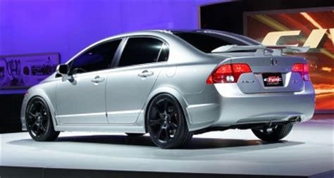 2006 honda civic si performance parts honda tuning magazine honda civic si sedan concept unveiled at chicago auto show