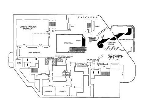 hotel lobby floor plan pan pacific hotel lobby level images frompo
