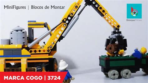 Cogo Engineering stop motion lego cogo city engineering escavadeira