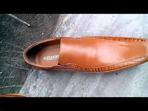 Sepatu Boots Kulit Asli Vigos Potter Black leather shoes mvc07 sepatu kulit
