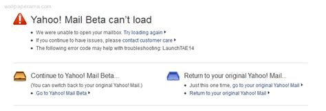 email yahoo error getting errors when login to try to access my yahoo email