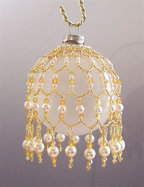 best 25 beaded ornament covers ideas on pinterest