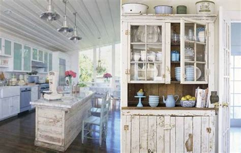 Shabby Chic Kitchen Cabinets Shabby Chic Kitchen Cabinets Marceladick