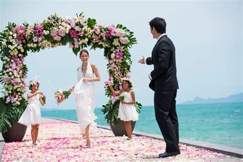 thailand wedding traditions wedding package on island of koh samui thailand inside