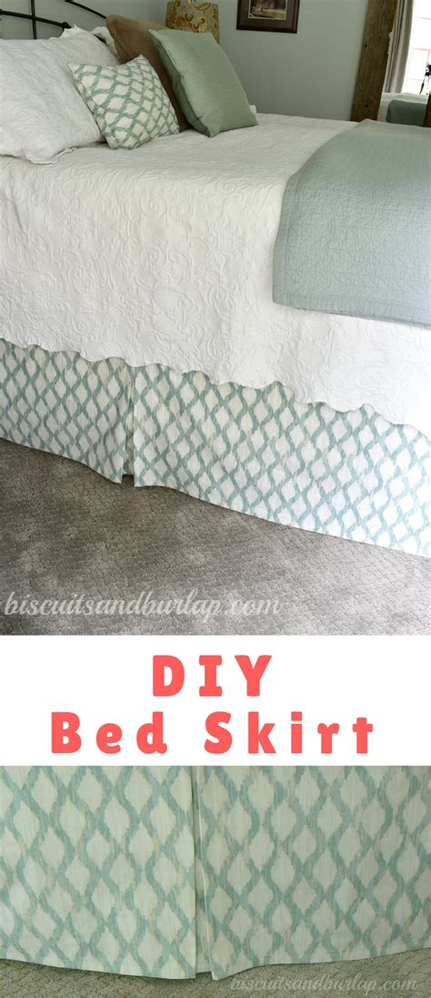 diy bed skirt diy bed skirt that you adjust to the height of your bed