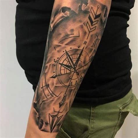 50 good nautical tattoos designs for men and women 2018