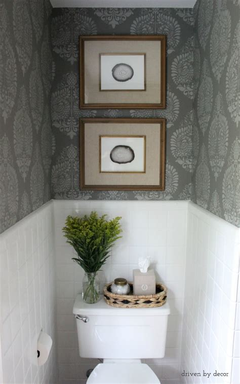 Toilet Decor by Decorating With Nature Diy Driven By Decor