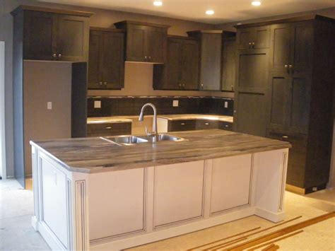 white stained maple cabinets cabinets stained grey maple white stained island